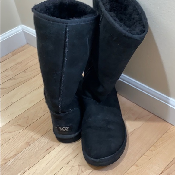 UGG Shoes - Tall black Ugg boots